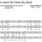 Renaissancecomponist Lupus Hellinck
