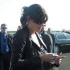 Actrice Katie Holmes op televisie en in de bioscoop