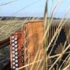 Trekharmonica op Waddeneiland Ameland