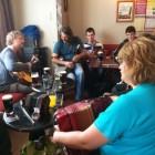 Ierse folk - Keltische muziek met fiddle en bodhrán