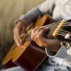 Zithouding bij de gitaar