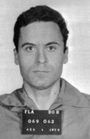 Seriemoordenaar Ted Bundy / Bron: Florida Department of Corrections, Wikimedia Commons (Publiek domein)