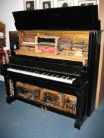Pianola / Bron: KarlKunde, Wikimedia Commons (CC BY-SA-3.0)