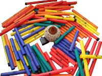 Diverse boomwhackers / Bron: Freddythehat, Wikimedia Commons (CC BY-SA-3.0)