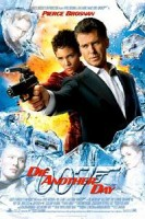 Affiche van Die Another Day, met Pierce Brosnan, Halle Berry en enkel nevenspelers.
