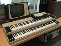 De digitale Fairlight CMI synthesizer. / Bron: Joho345, Wikimedia Commons (Publiek domein)