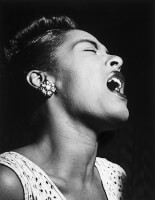 Billie Holiday / Bron: William P. Gottlieb, Wikimedia Commons (Publiek domein)